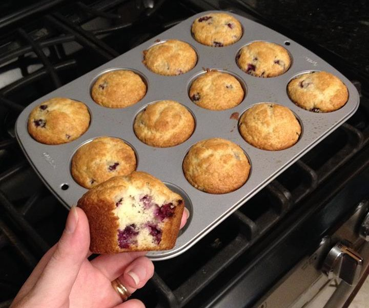 Foraging for Juneberry Muffins