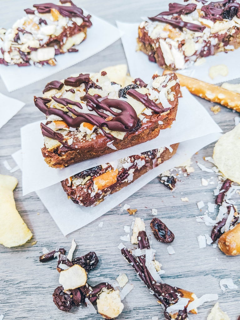 Kitchen Cabinet Cookie Bars Using Mashed Potatoes