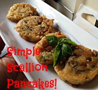 How to Make Simple Scallion Pancakes!