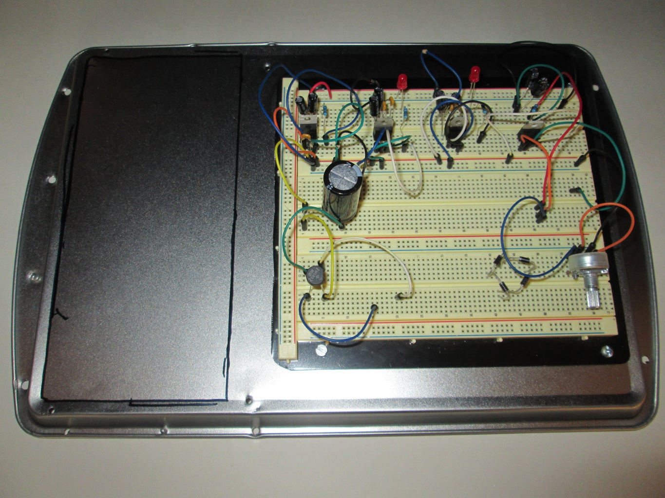 Front Panel and PCB