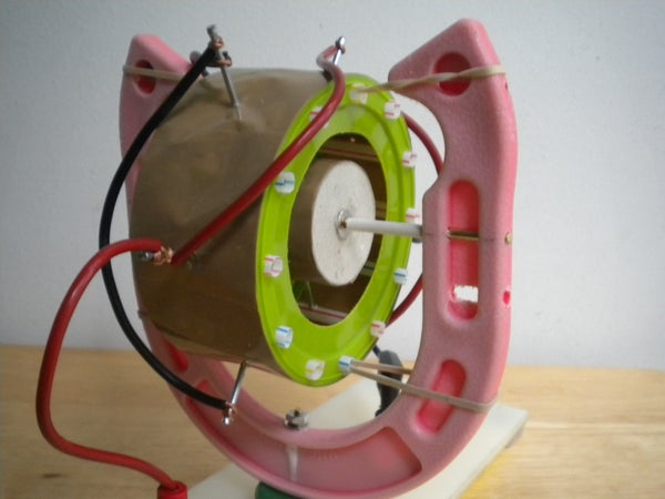 Steam Punk Themed Electrostatic Motor