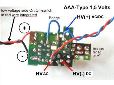 AAA-Type Driven Lights