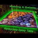 Make a Galactic Honeycomb Floating Computer Stand From a $5 Table