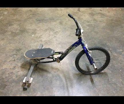 Build a drift trike from junk