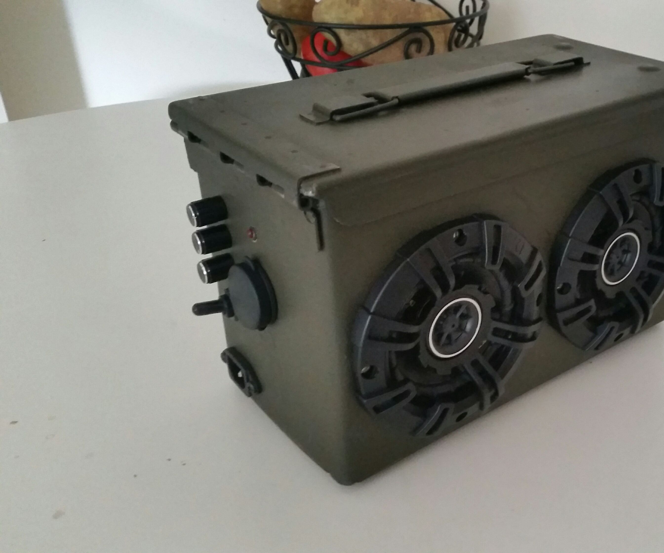 Ammo Can BlueTooth Boom Box