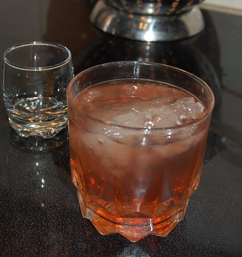 Chartreuse Chambord Ginger-Beer Cocktail