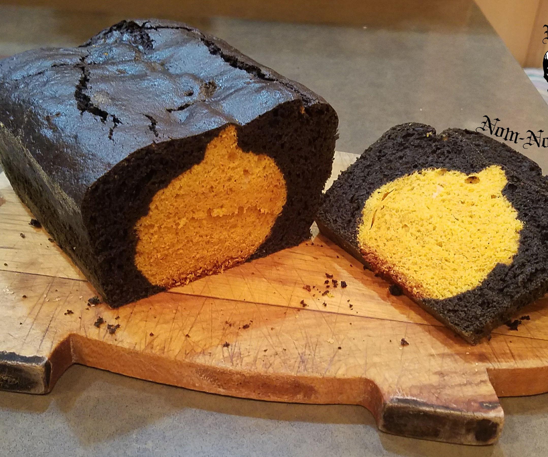 Black Magic Hidden Pumpkin Bread