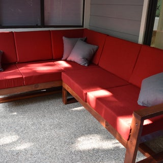 DIY Modern Outdoor Sofa
