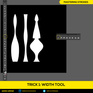 Trick 1: Width Tool — Changing the Breadth of the Stroke