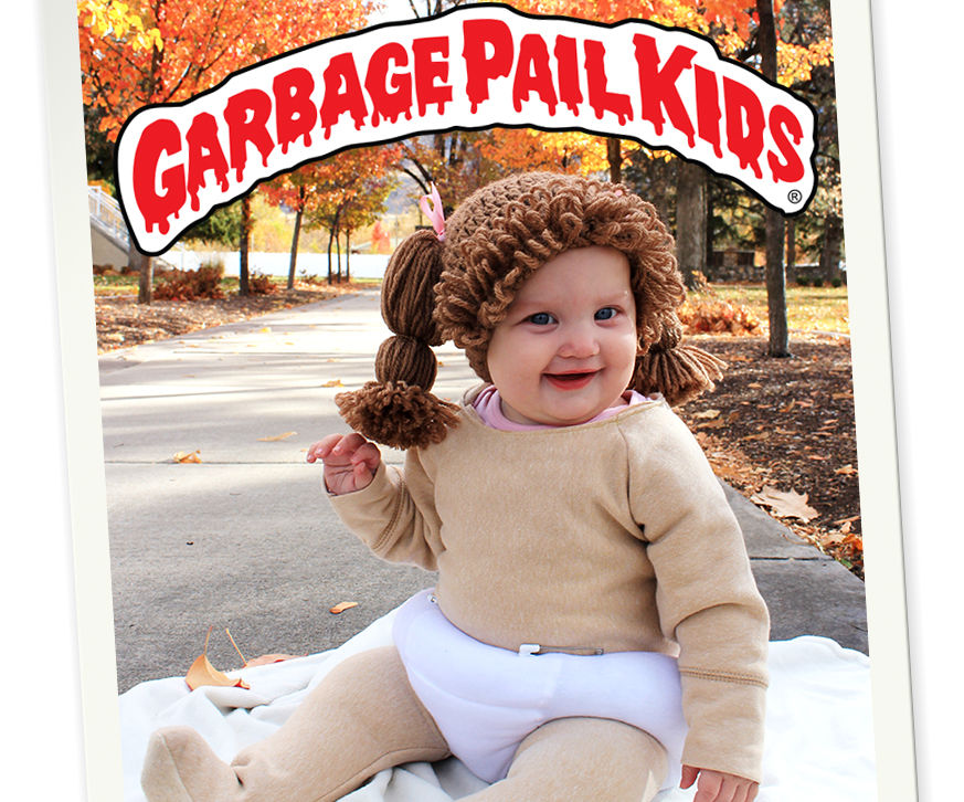 Garbage Pail Baby Costume with Prop