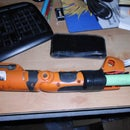 Refit cordless screwdriver with dead battery