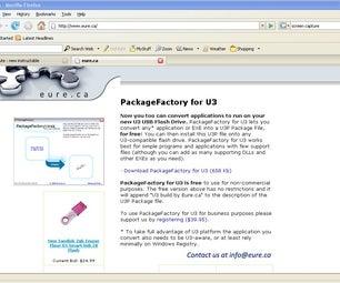 Make Your Own U3 Programs Using Freeware