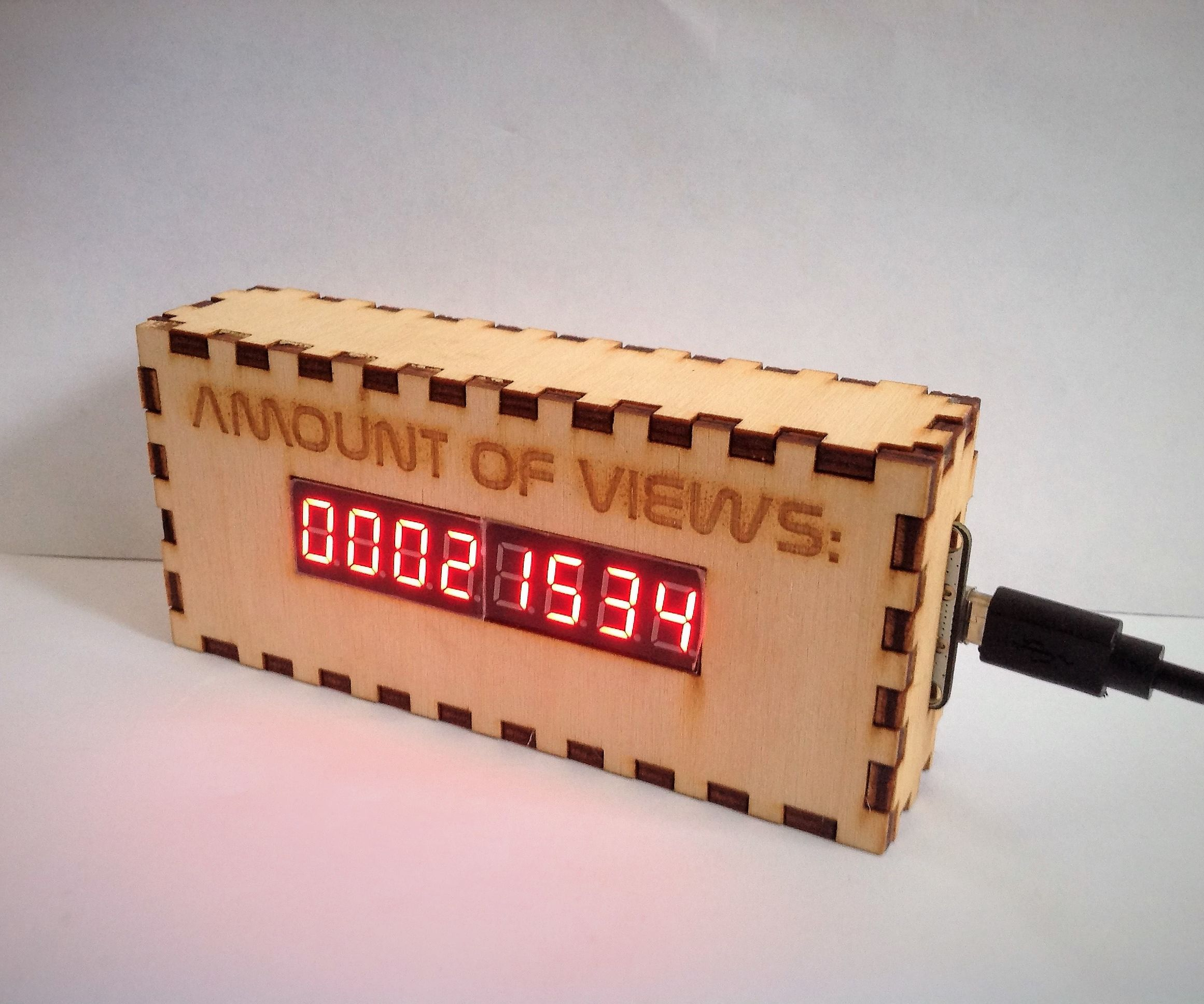 ESP-8266 Instructable View Counter