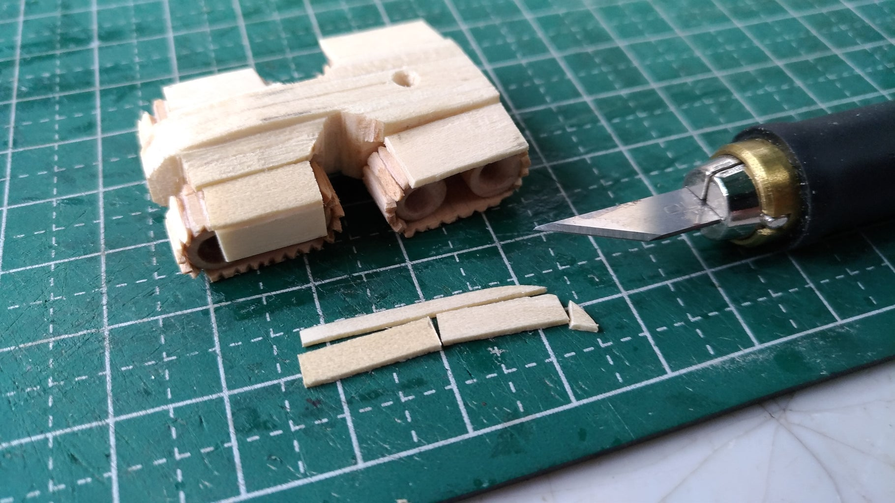 Tank Hull, Wheels and Track Assemblies
