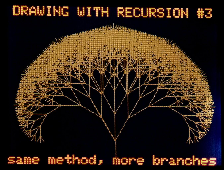 Recursive Drawing
