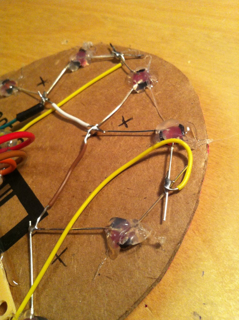 The Circuit for the LEDs