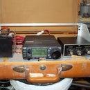 Ham Radio Go-Box in a Suitcase