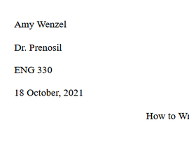 How to Write a Research Paper (The Amy-Creighton Guide)