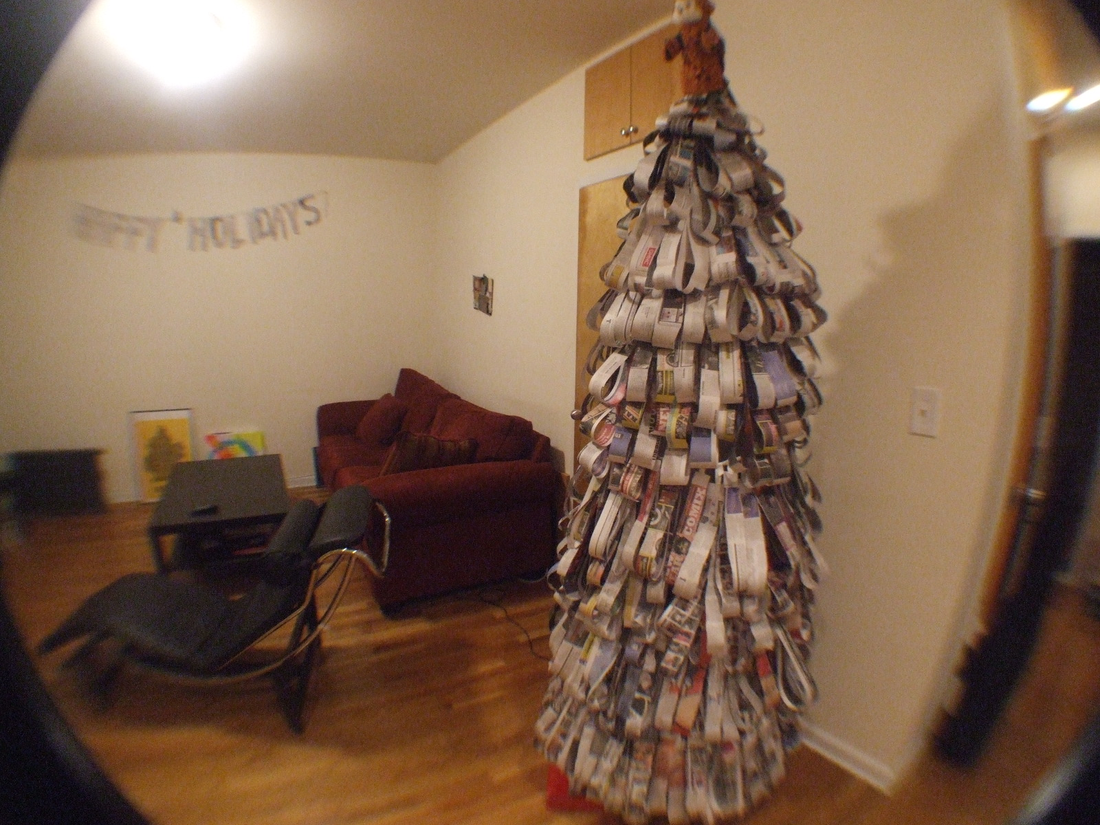 How To Make An Eco-Friendly Holiday Tree