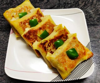 Vegetable Cheese Wraps