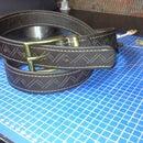 The dad's belt. :)