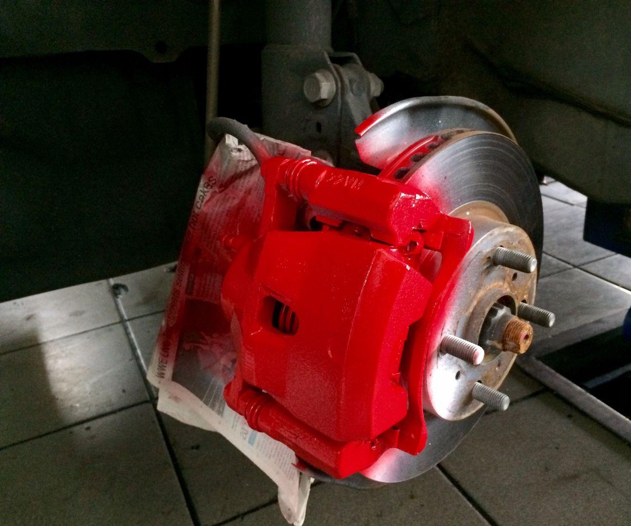 How to DIY Paint Car Brake Calipers