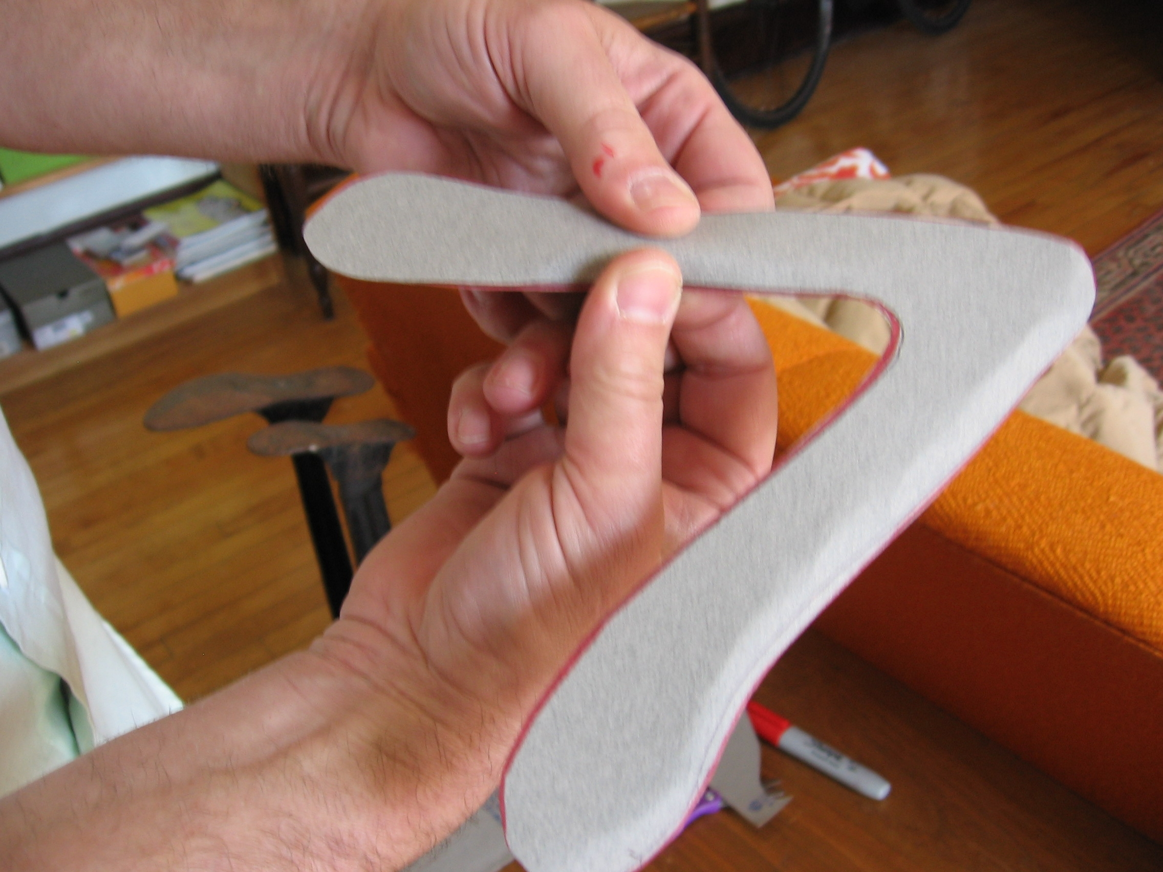 Indoor Boomerang