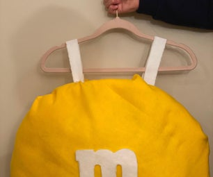 M and M Easy Costume.