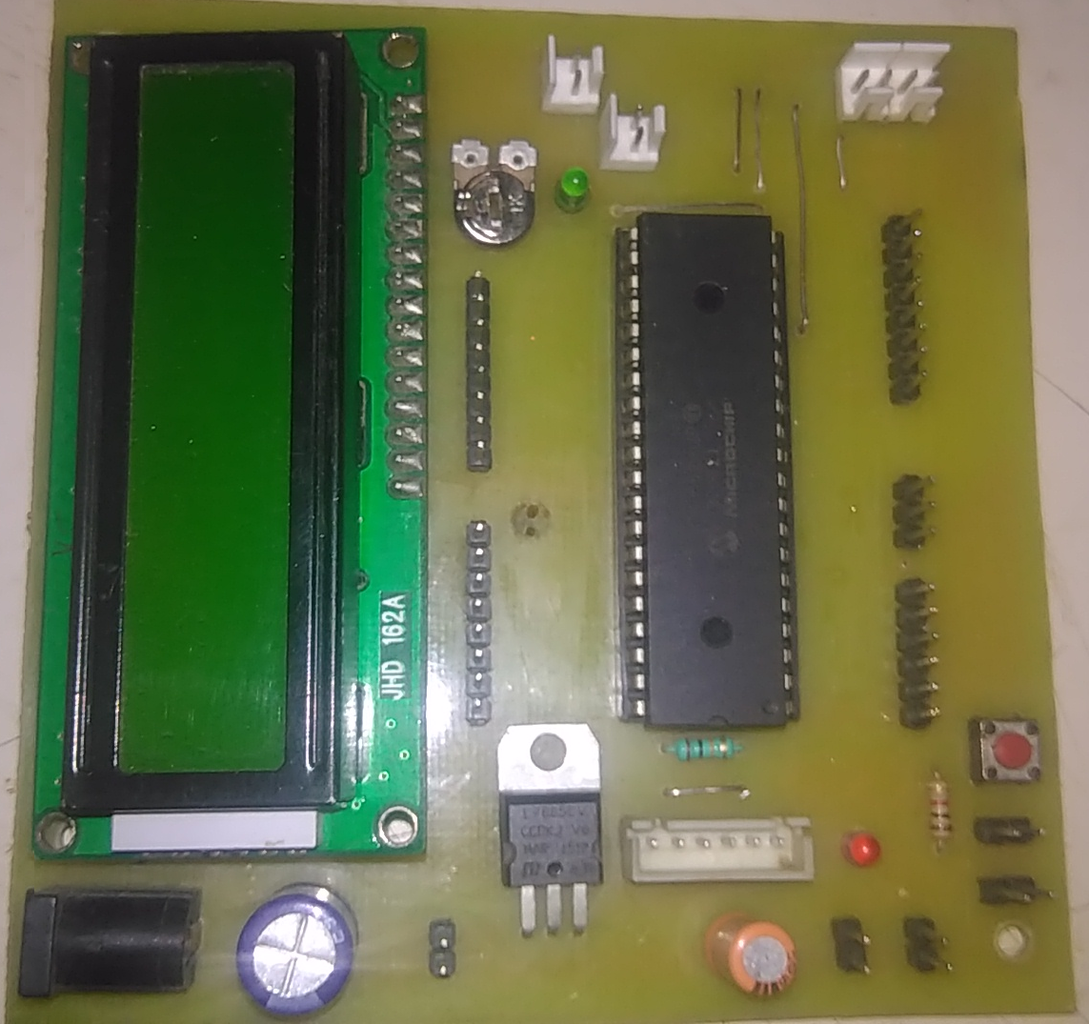 Real TIme Clock Using PIC18F452