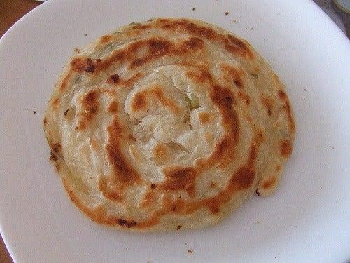 Spring Onion Pie --Taiwan Nightmarket Snack