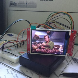 Arduino - TFT Display of Bitmap Images From an SD Card