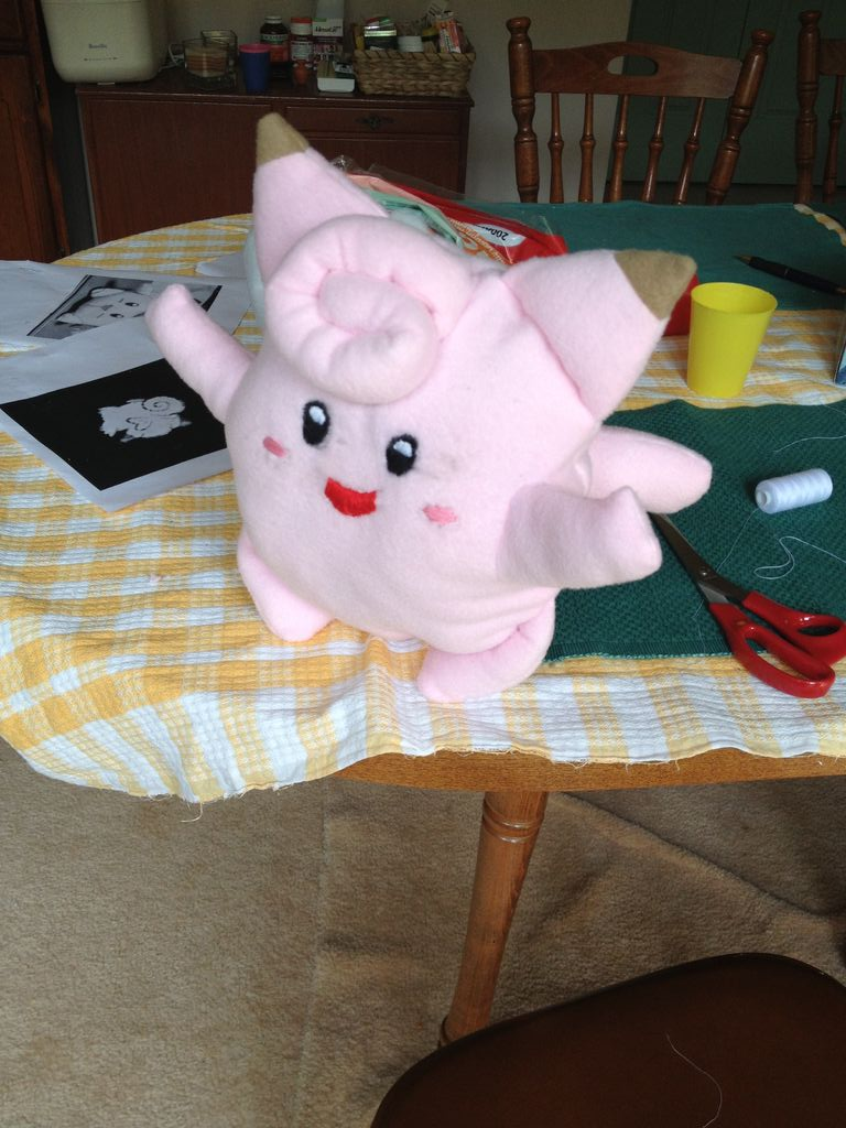 Clefairy Plushie