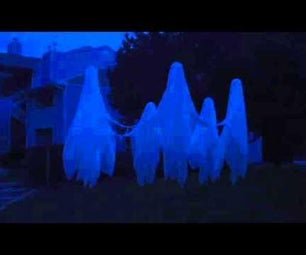 Hovering, Dancing Ghosts