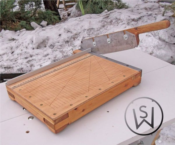 Guillotine Not Only Paper Cutter