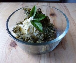 Cinnamon Basil & Mint Dessert Pesto