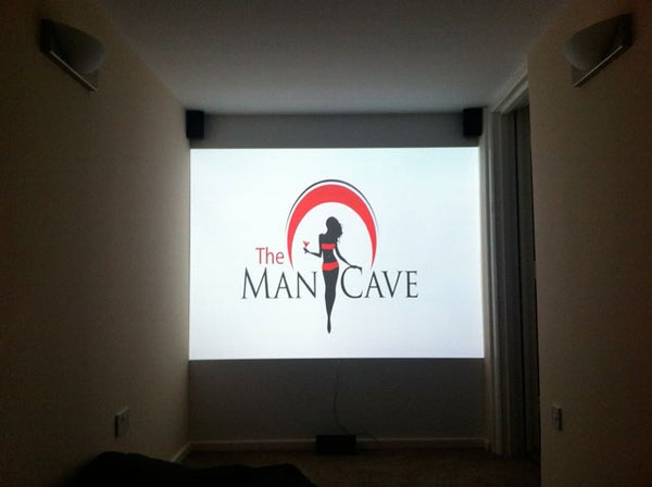 "Cinema Room and Bar (aka ""The Man Cave"")"