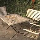how to renew teak garden furniture