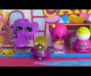 Make Your Own Shake Shopkins With Movable Bubble Gum.