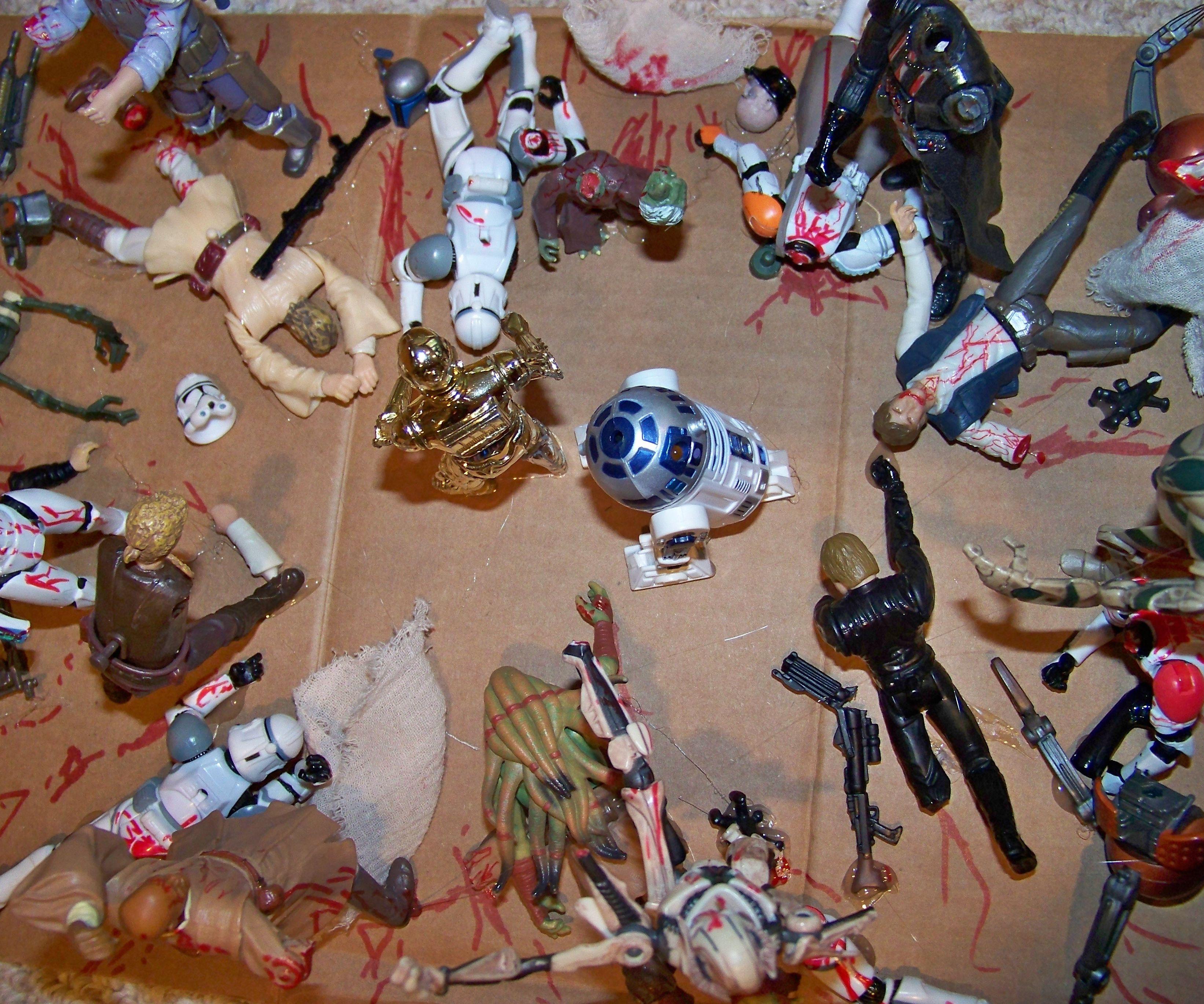 DIY Star Wars- The Walking Dead
