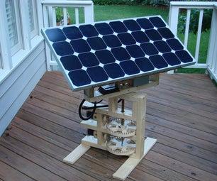 Internet Enabled Solar Tracker