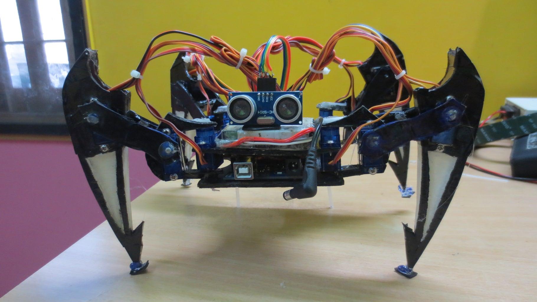 Arduino Quadruped