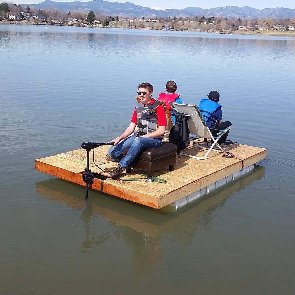 Homemade Pontoon Boat
