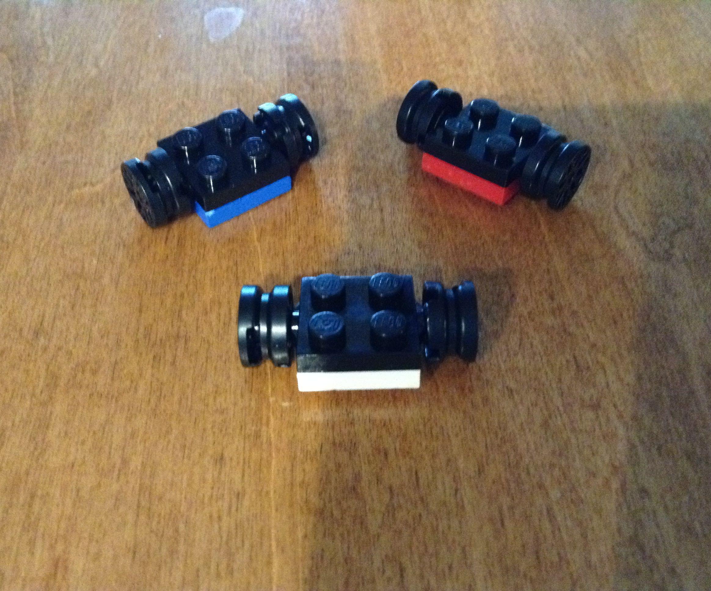 Mini Lego hover boards!