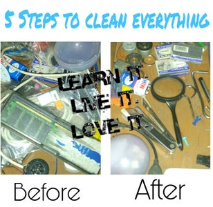 Decluttering the Drawer