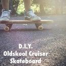 D.I.Y. Oldskool Cruiser Skateboard