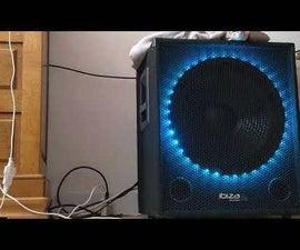 7-mode Bass-reactive RGB Subwoofer LED's