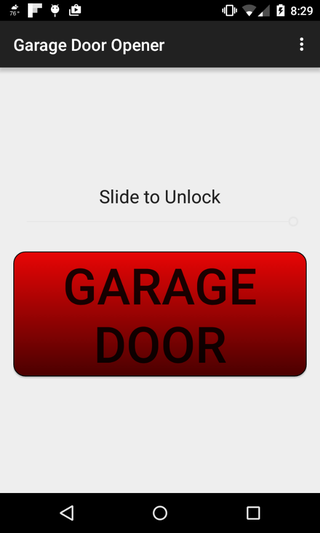 Open Your Garage Door With Your Android 4 Steps With Pictures Instructables