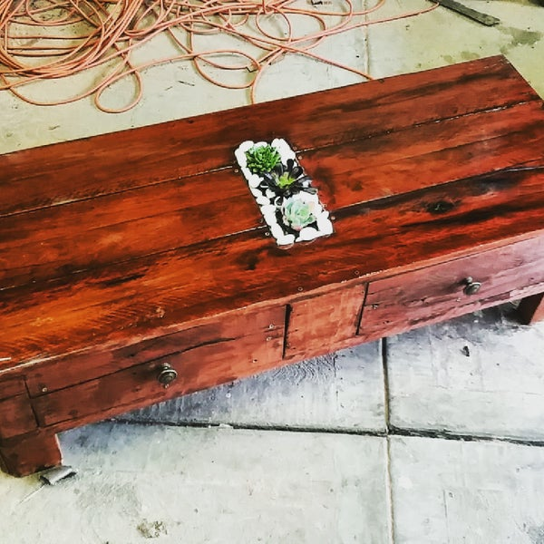 Redgum Pallet Coffee Table
