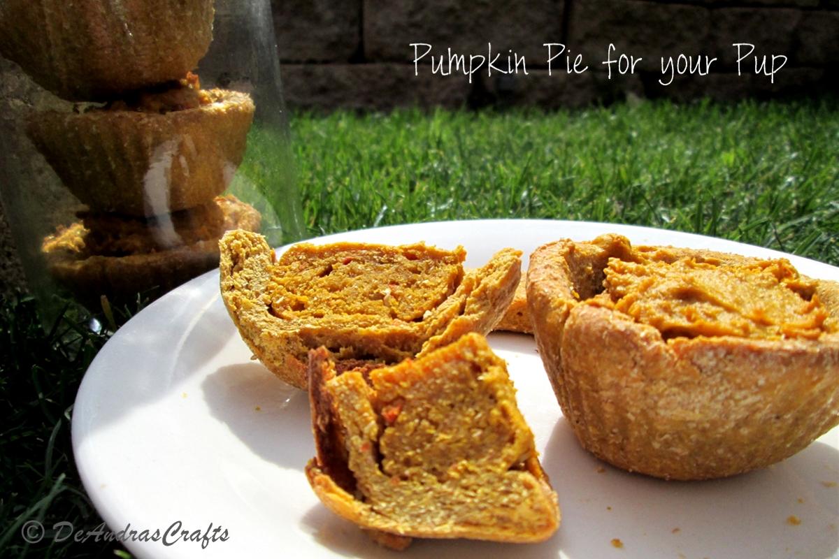 Pumpkin Pie Treats for your Pup