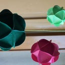 Decorative Paper Orbs